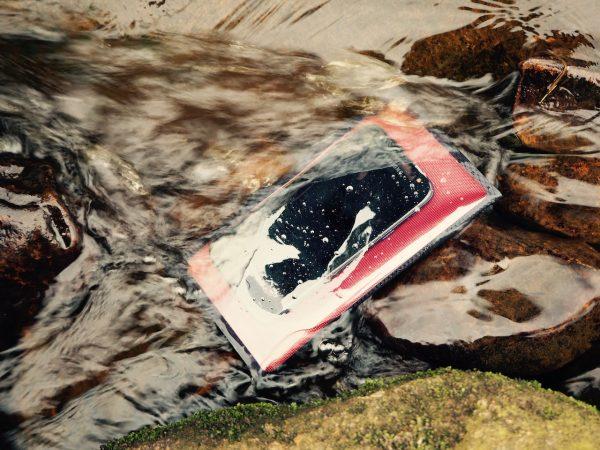 lying in a stream